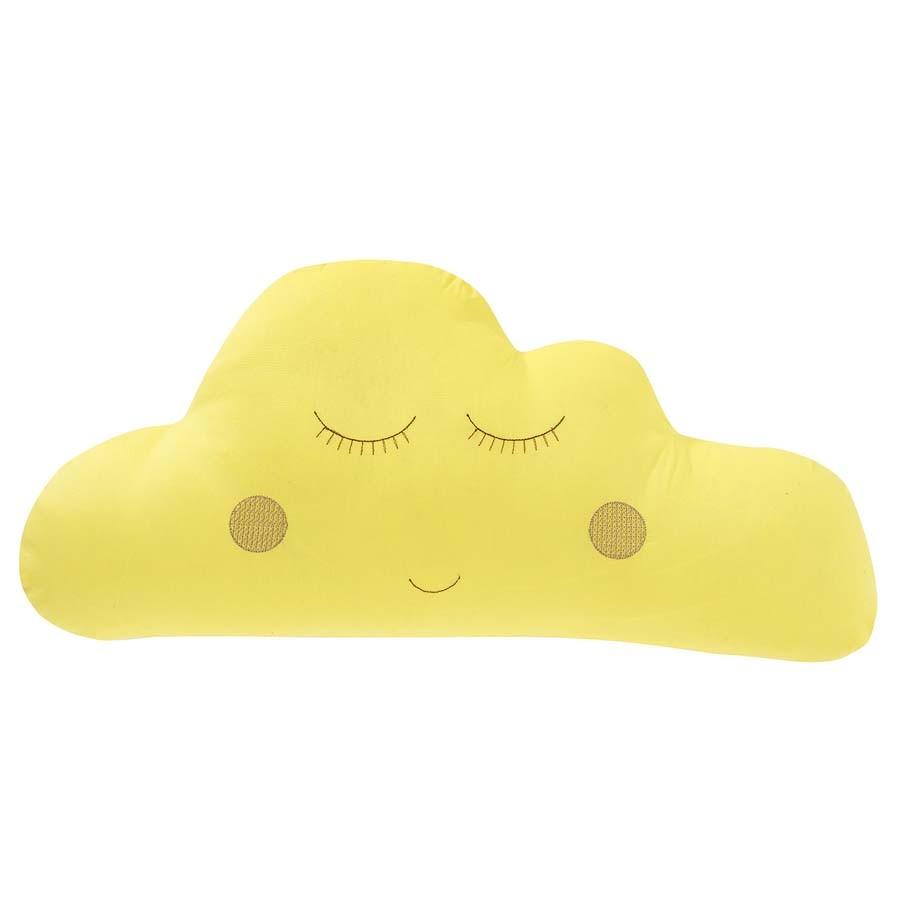 Almofada Nuvem Amarela