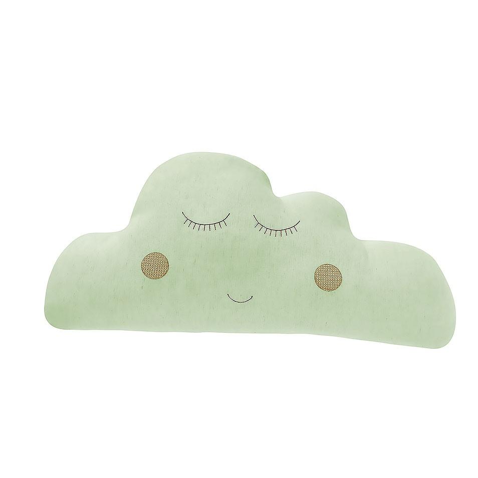 Almofada Nuvem Verde  - Toca do Bebê