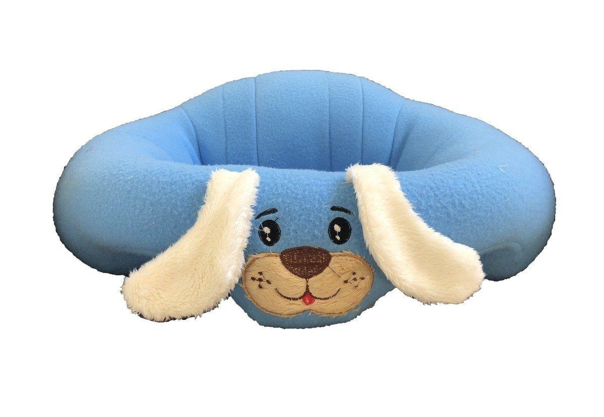 Almofada Puff Cachorrinho Azul
