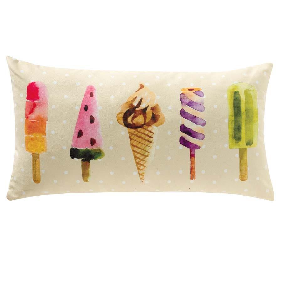 Almofada Retangular Coleção Ice Cream