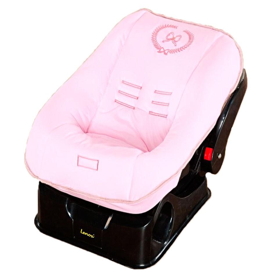 Capa de Bebê Conforto Elegance Rosa