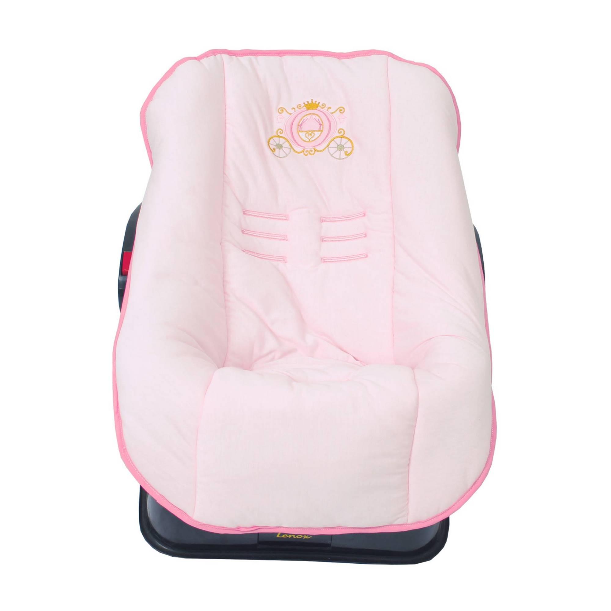 Capa de Bebê Conforto em Malha Castelo