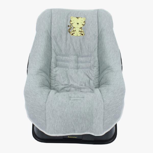 Capa de Bebê Conforto em Malha Tigrinho