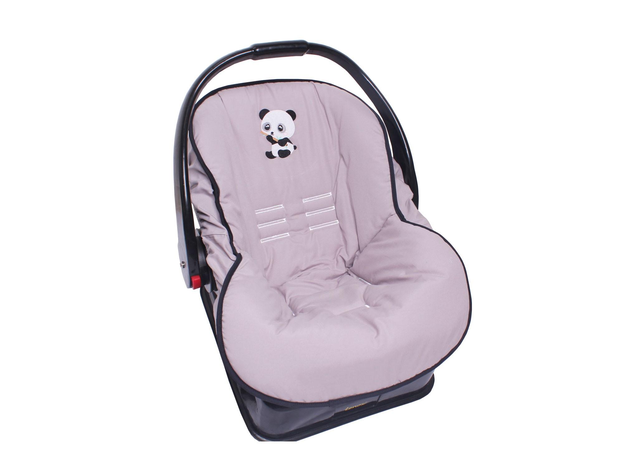 Capa de Bebê Conforto Little Panda  - Toca do Bebê