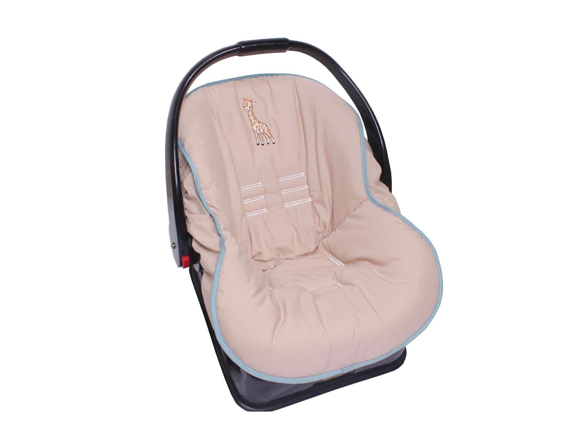 Capa de Bebê Conforto Mali   - Toca do Bebê