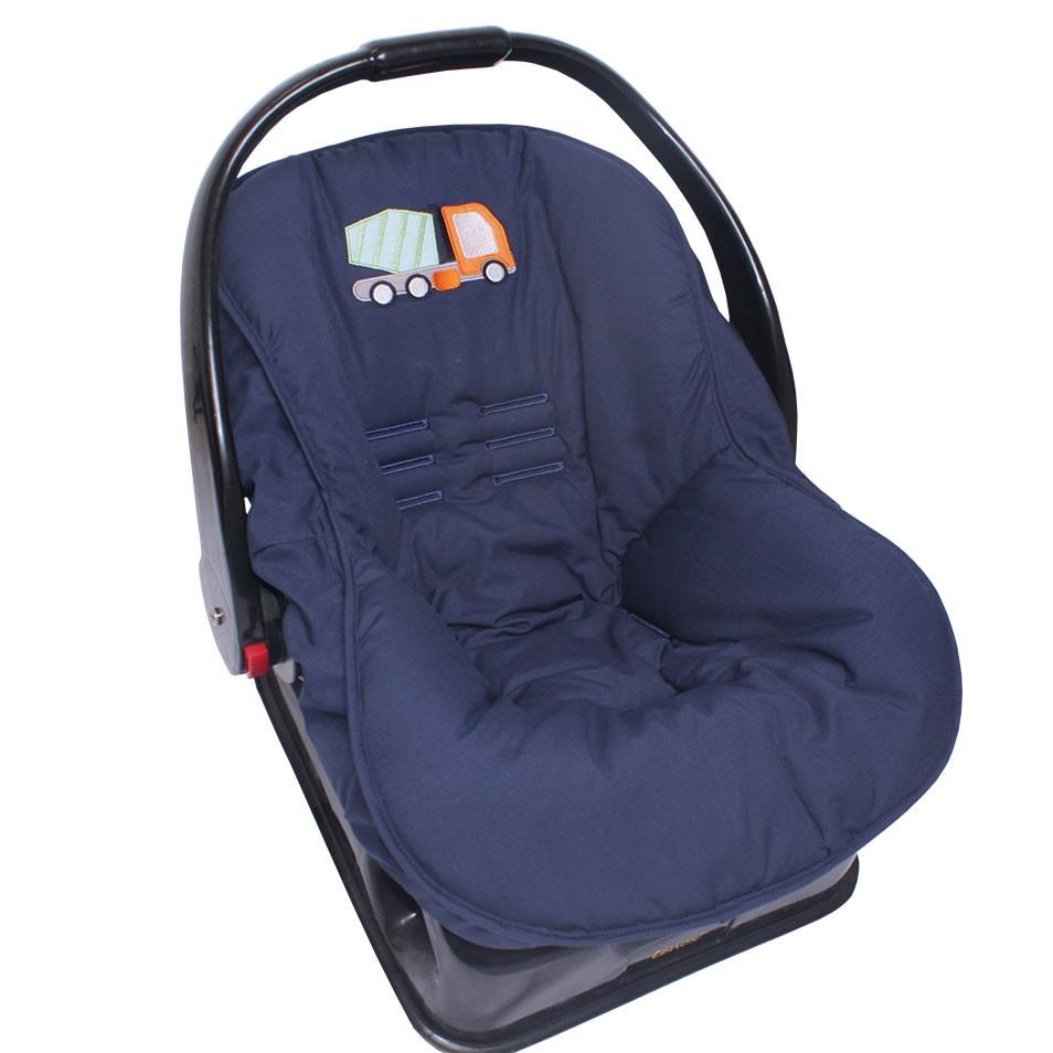 Capa de Bebê Conforto Truck   - Toca do Bebê