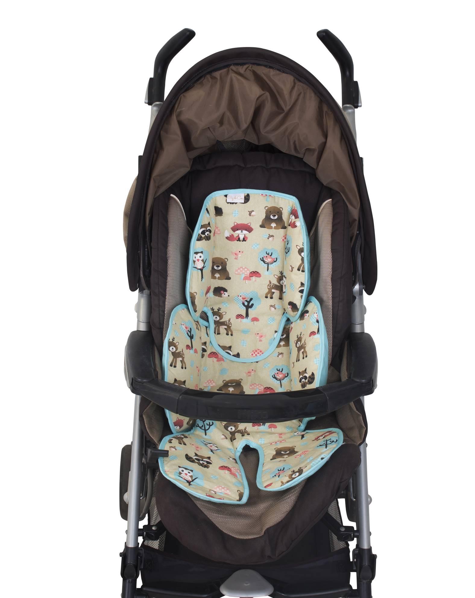 Redutor de Bebê Conforto e Carrinho Floresta   - Toca do Bebê