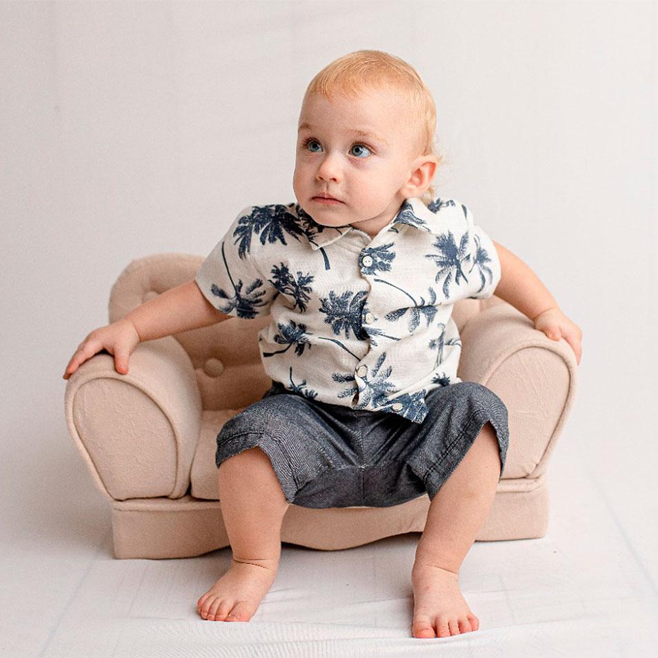 Conjunto 02 Peças Coqueiro  - Toca do Bebê