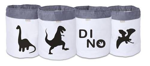 Conjunto de Cestos Organizadores Dino