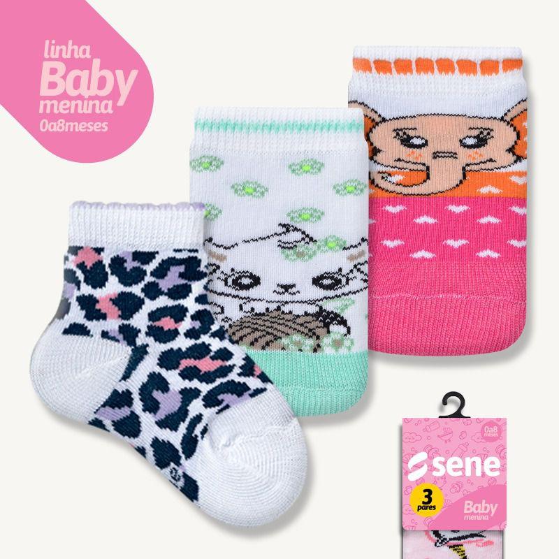 Conjunto de Meias para Bebê Feminino