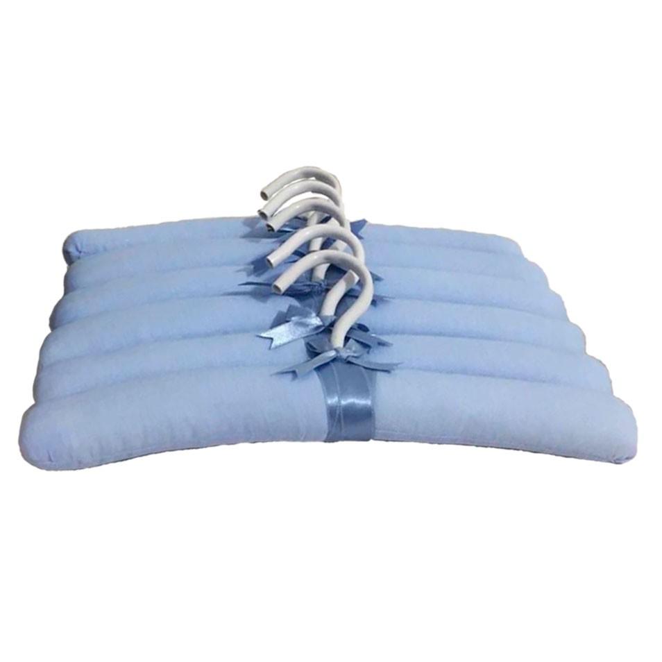 Jogo de Cabides Azul Bebê  - Toca do Bebê