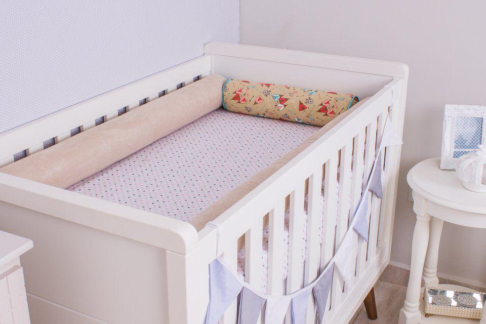 Kit de Berço 04 Rolos Tendas   - Toca do Bebê