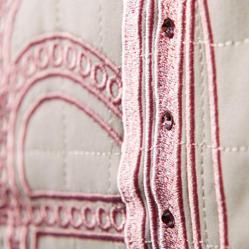 Kit Bicama Personalizado Realeza Rosa 08 Peças  - Toca do Bebê