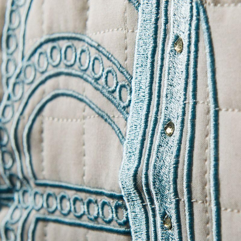 Kit Bicama Realeza Azul 08 Peças  - Toca do Bebê