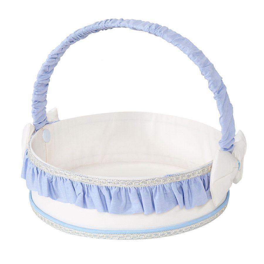 Kit de Acessórios Realeza Azul 05 Peças  - Toca do Bebê