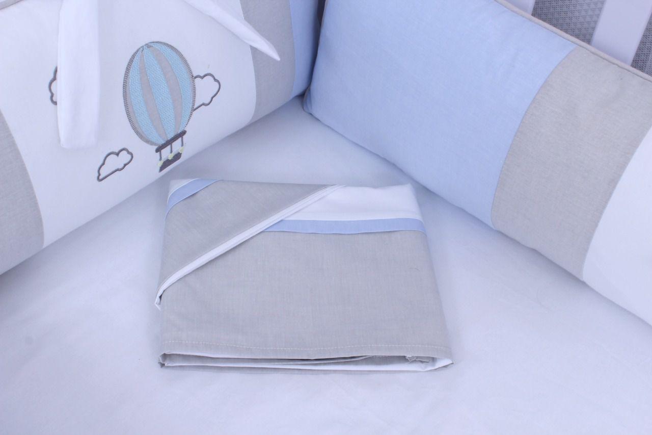 Kit de Berço Balãozinho 09 Peças  - Toca do Bebê
