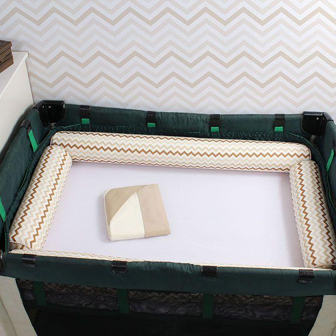 Kit de Berço Desmontável 07 Peças Indian Fox