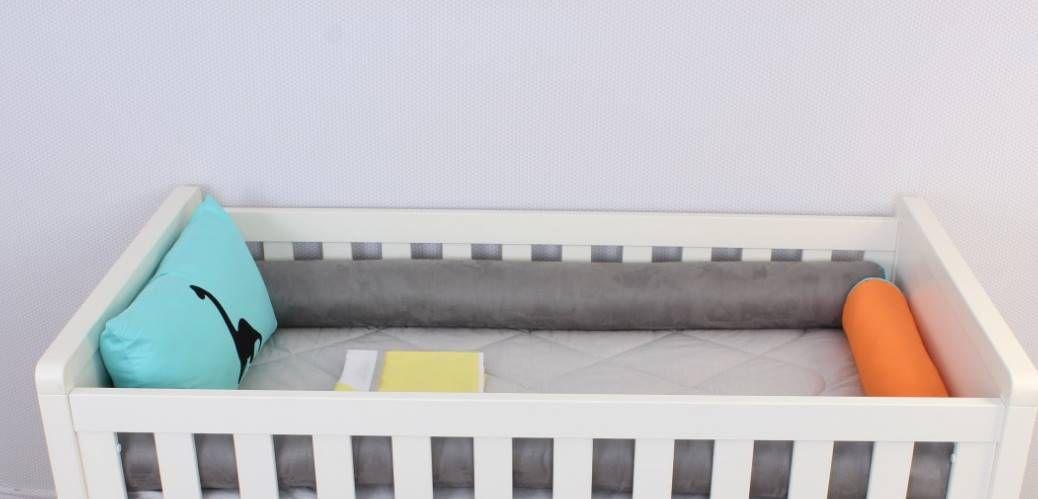 Kit de Berço Dino - 08 Peças  - Toca do Bebê