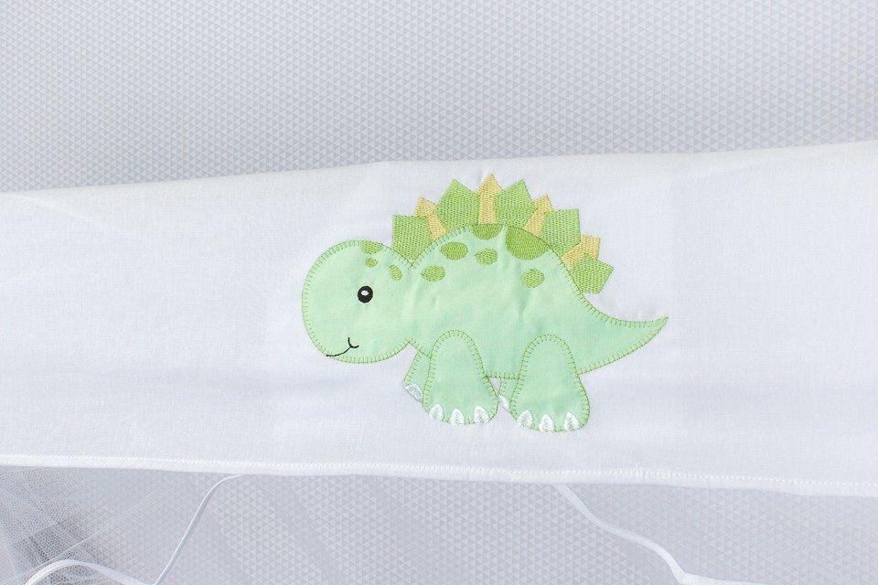 Kit de Berço Dinossauro 09 Peças   - Toca do Bebê