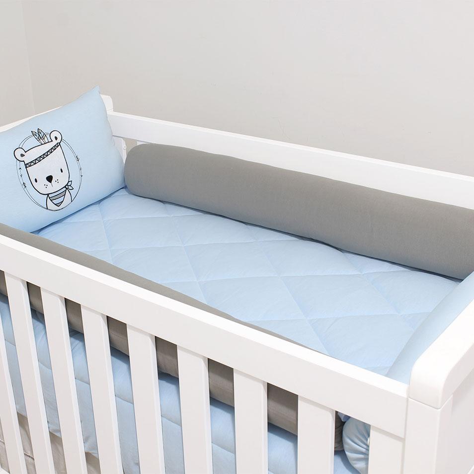 Kit de Berço Malha Indiozinho  - Toca do Bebê