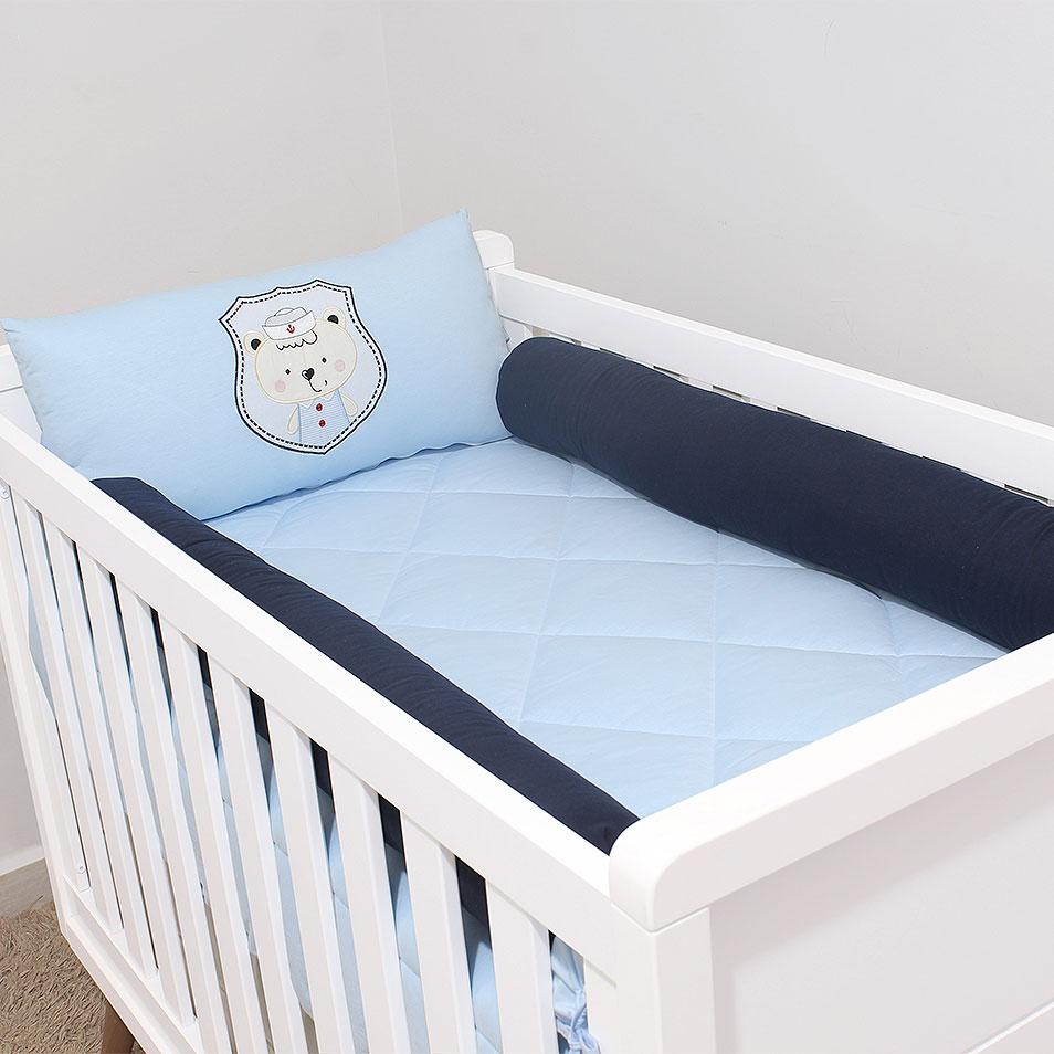 Kit de Berço Malha Pimpolho  - Toca do Bebê