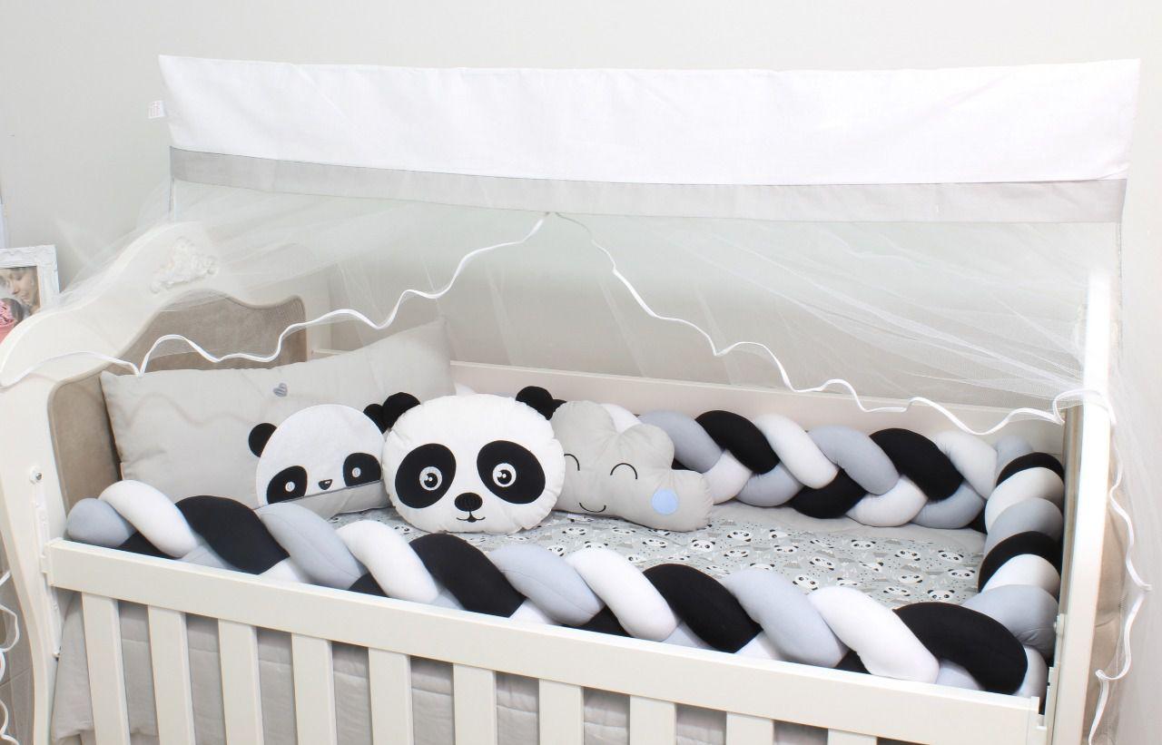 Kit de Berço Panda 08 Peças