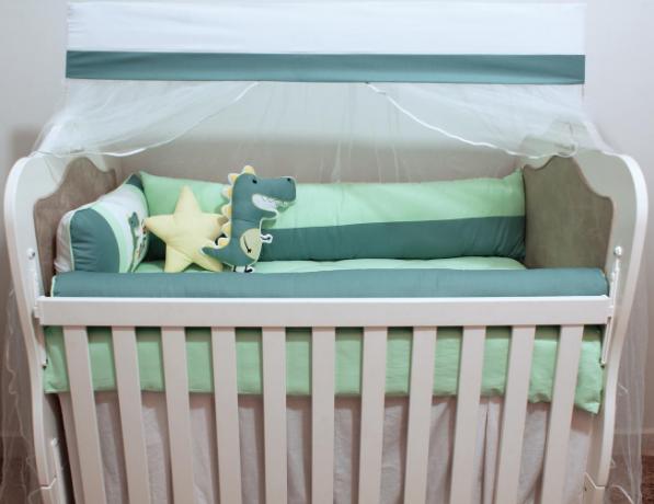 Kit de Berço Roar 10 Peças  - Toca do Bebê