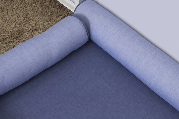 Kit Montessoriano Azul Jeans 07 Peças  - Toca do Bebê