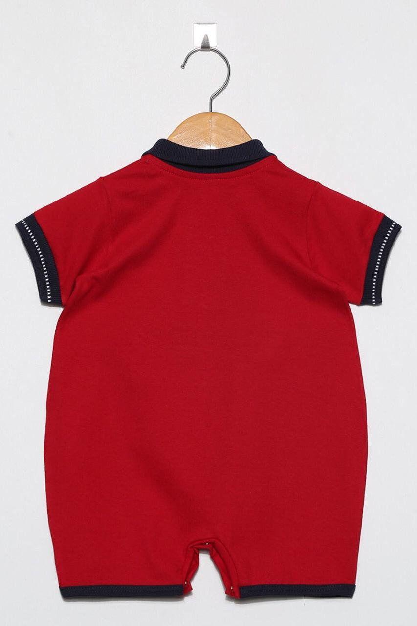 Macacão Curto Champion Vermelho  - Toca do Bebê