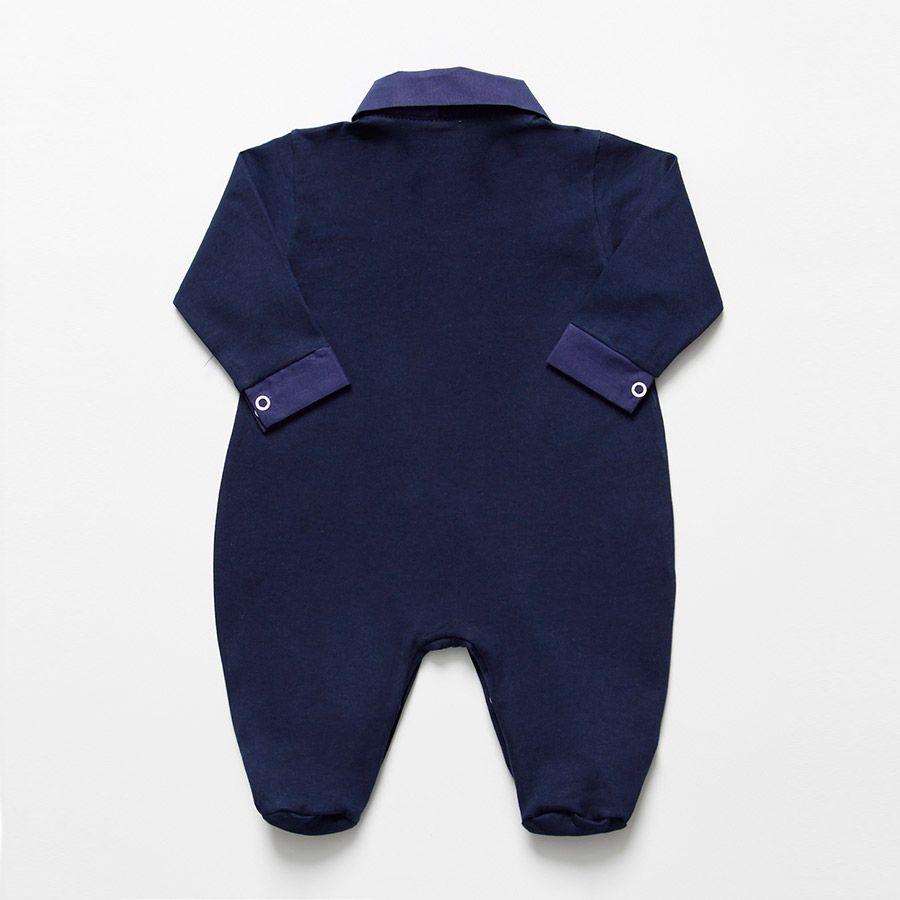 Macacão Longo Azul Marinho  - Toca do Bebê
