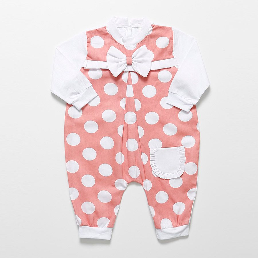 Macacão Longo Rosê Feminino  - Toca do Bebê