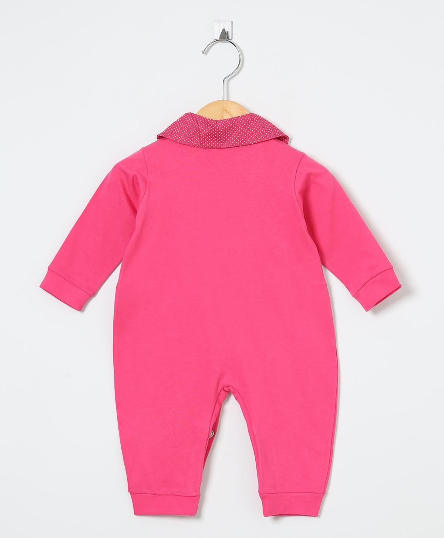 Macacão Manga Longa Gatinha   - Toca do Bebê