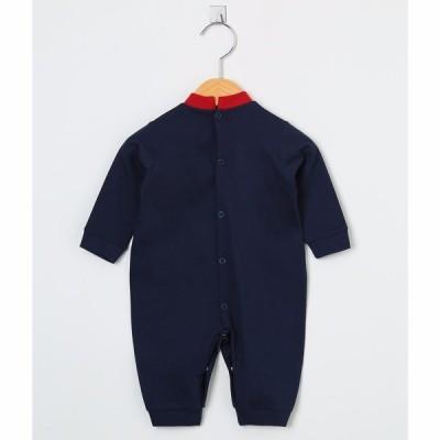 Macacão Manga Longa Timão Azul Marinho  - Toca do Bebê