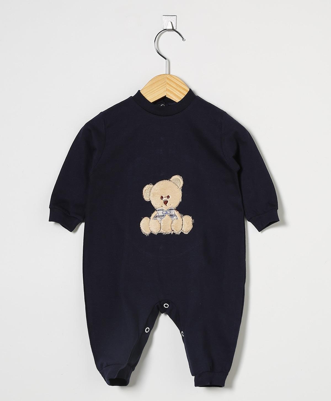 Macacão Manga Longa Urso Teddy