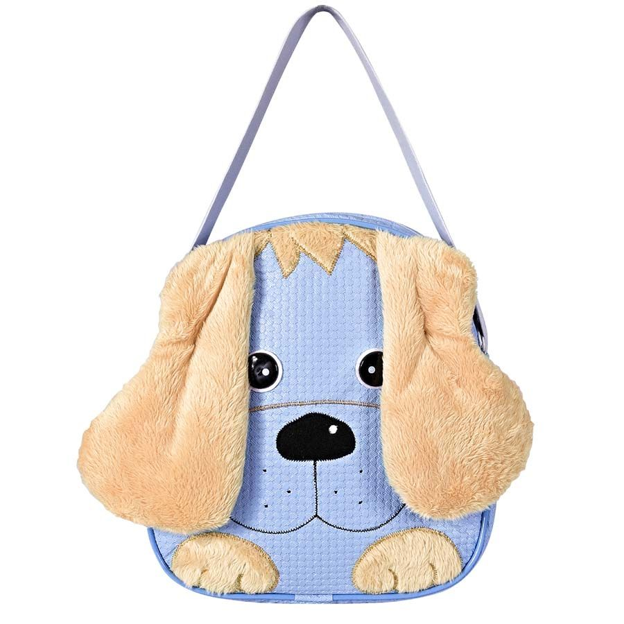 Lancheira Infantil Cachorro Azul P.