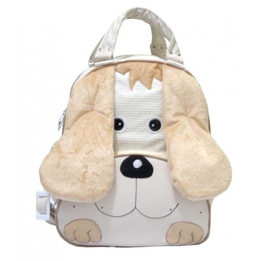 Mochila Infantil Cachorro Palha G.