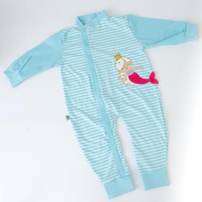 Pijama Sereia Alana Listrado  - Toca do Bebê