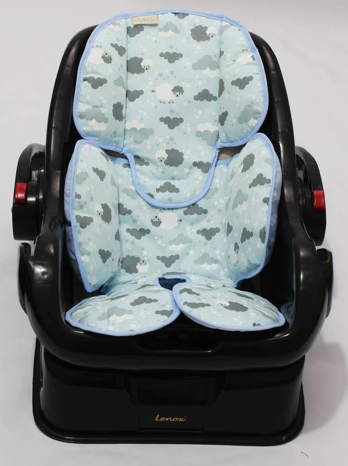 Redutor de Bebê Conforto e Carrinho Ovelha Azul