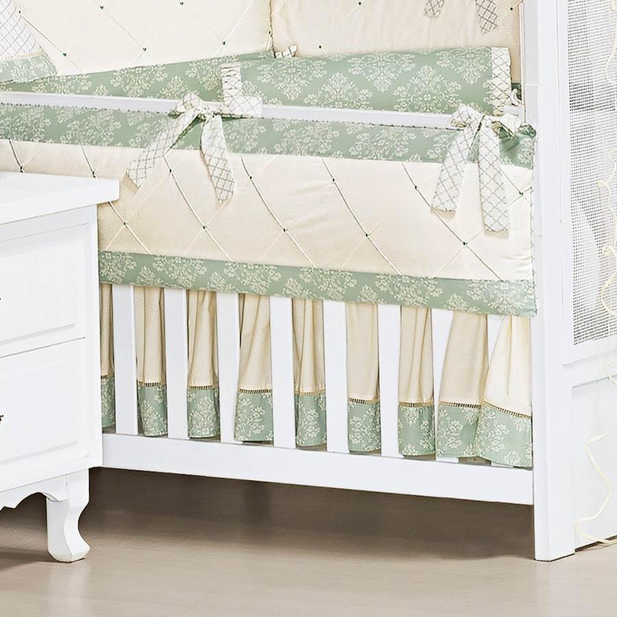 Saia de Berço 2 Lados Kit Amore  - Toca do Bebê