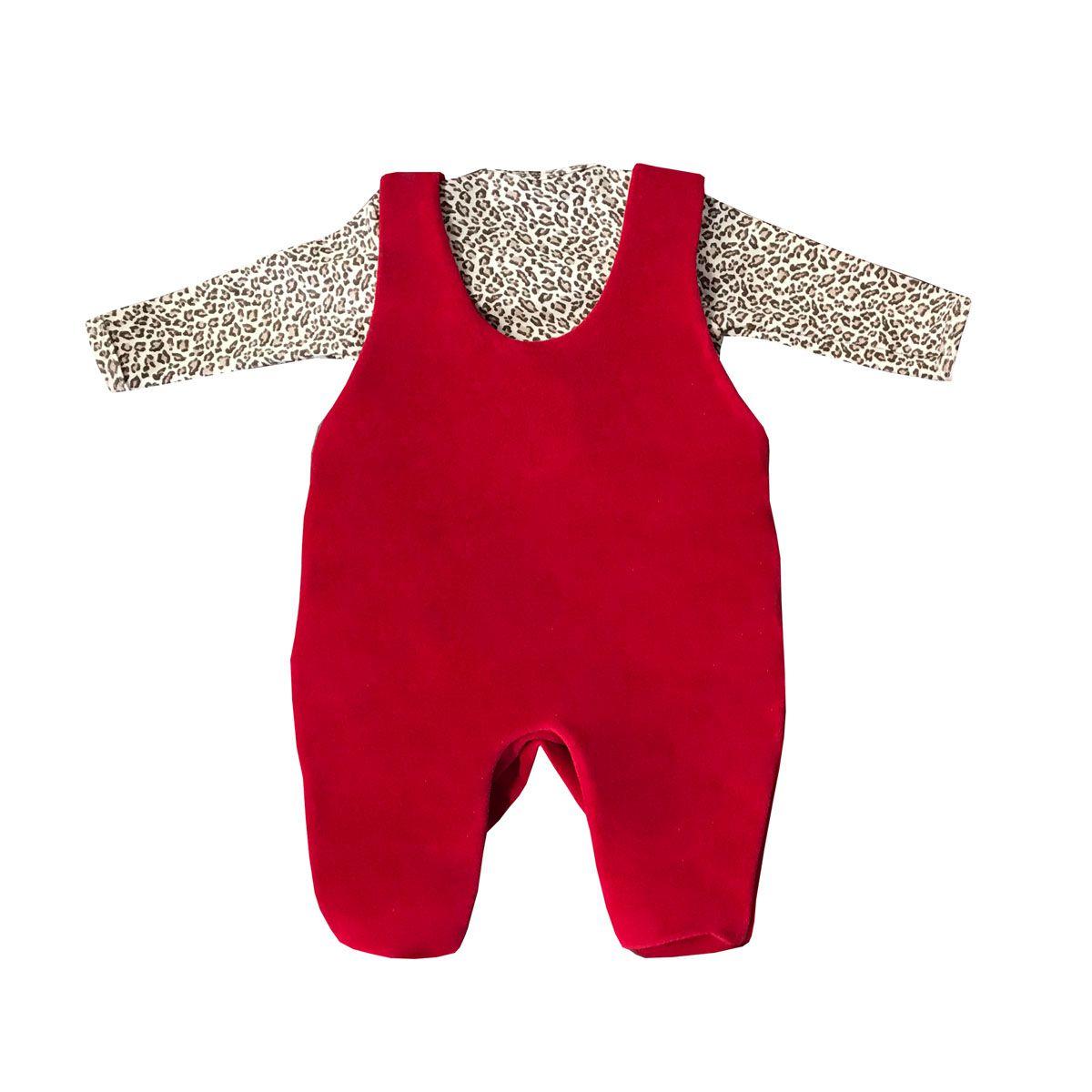 Saída Maternidade de Oncinha Ursa 03 Peças  - Toca do Bebê