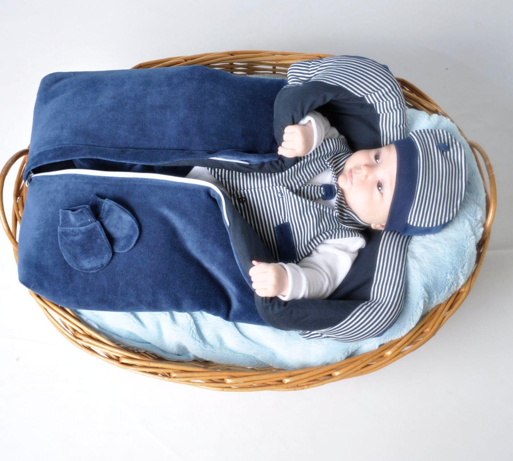 Saída Maternidade Gravatinha 04 Peças