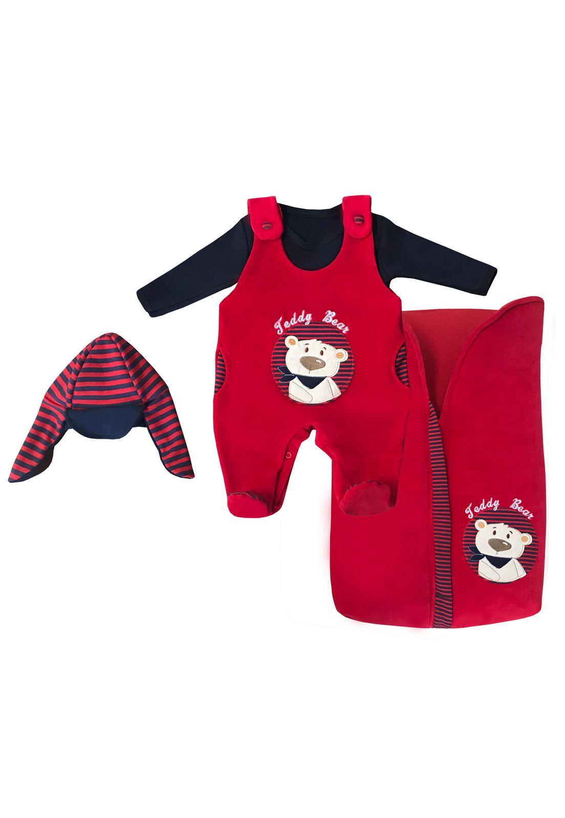 Saída Maternidade Teddy Bear 03 Peças