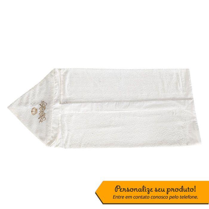 Toalha Bordada Personalizada Kit Imperial