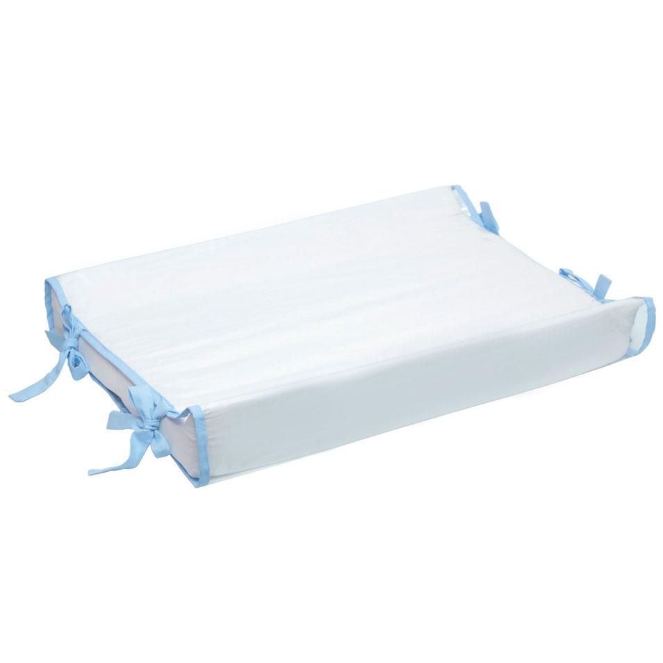 Trocador Anatômico Branco com Azul