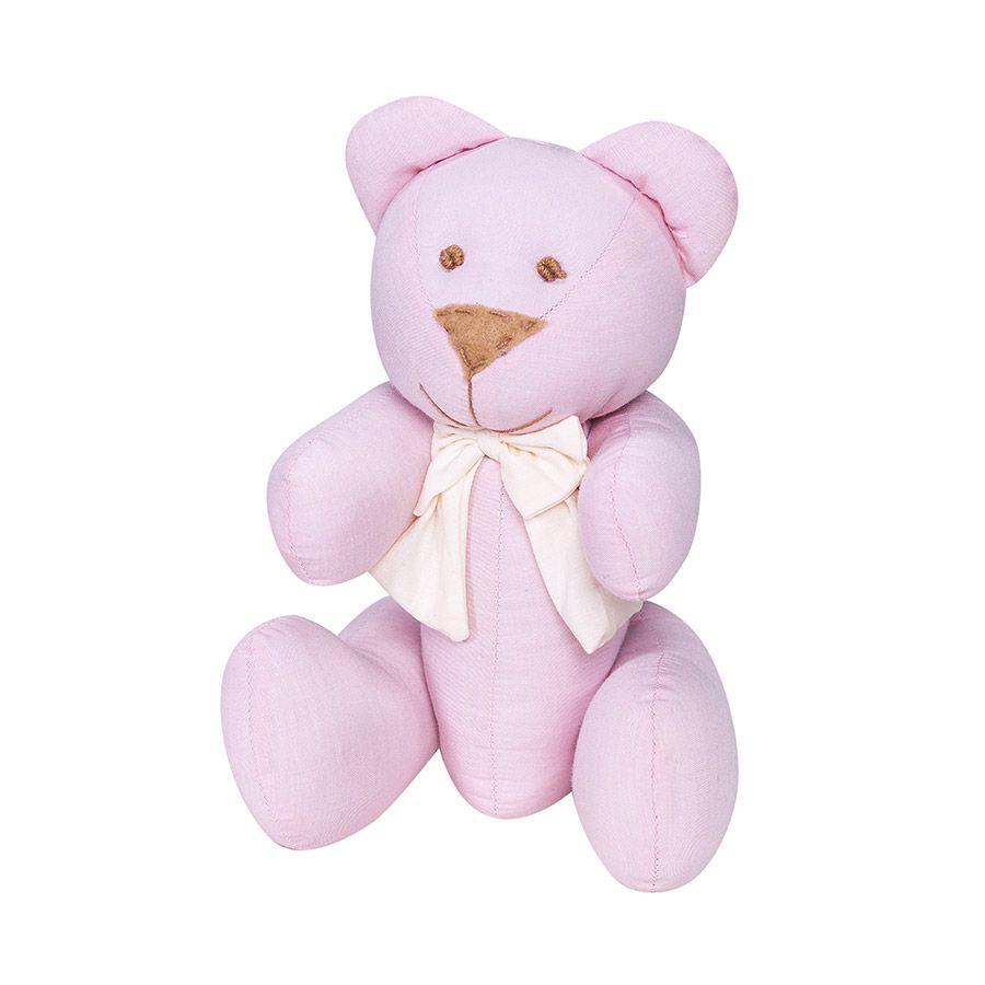 Ursa G Realeza Rosa  - Toca do Bebê
