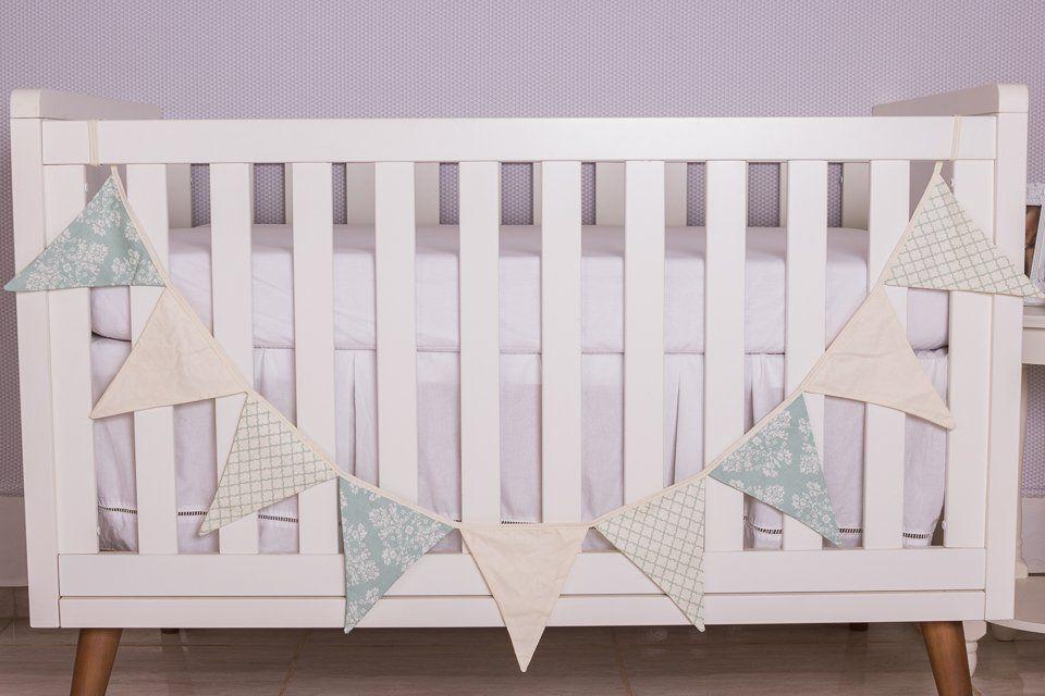 Varal Decorativo de Bandeirinha Amore Verde  - Toca do Bebê