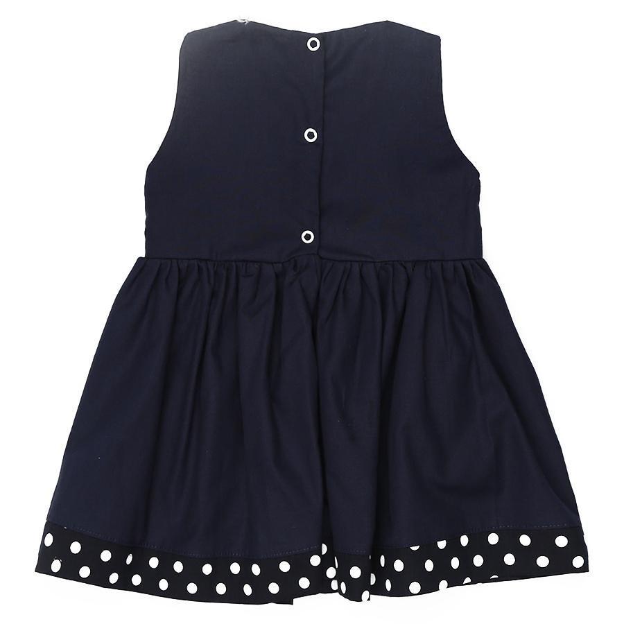 Vestido Azul Marinho  - Toca do Bebê