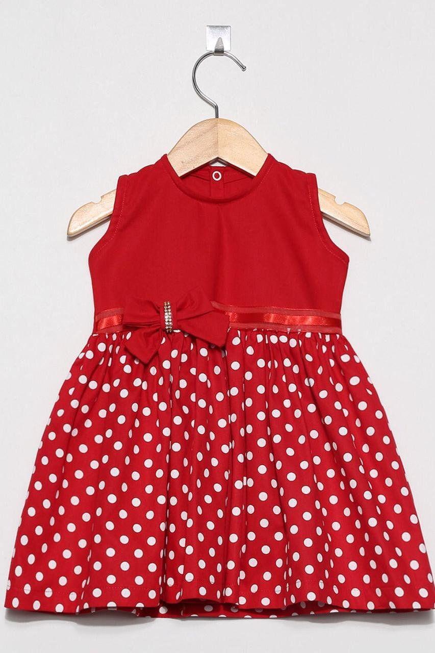 Vestido Bolinha Vermelha