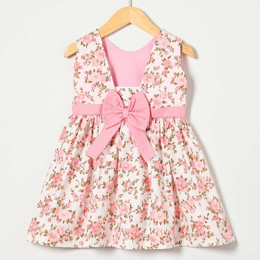 Vestido Coleção Miss Bella IV Rosa  - Toca do Bebê