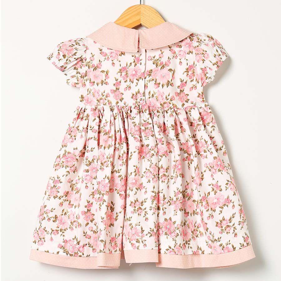 Vestido Coral  - Toca do Bebê